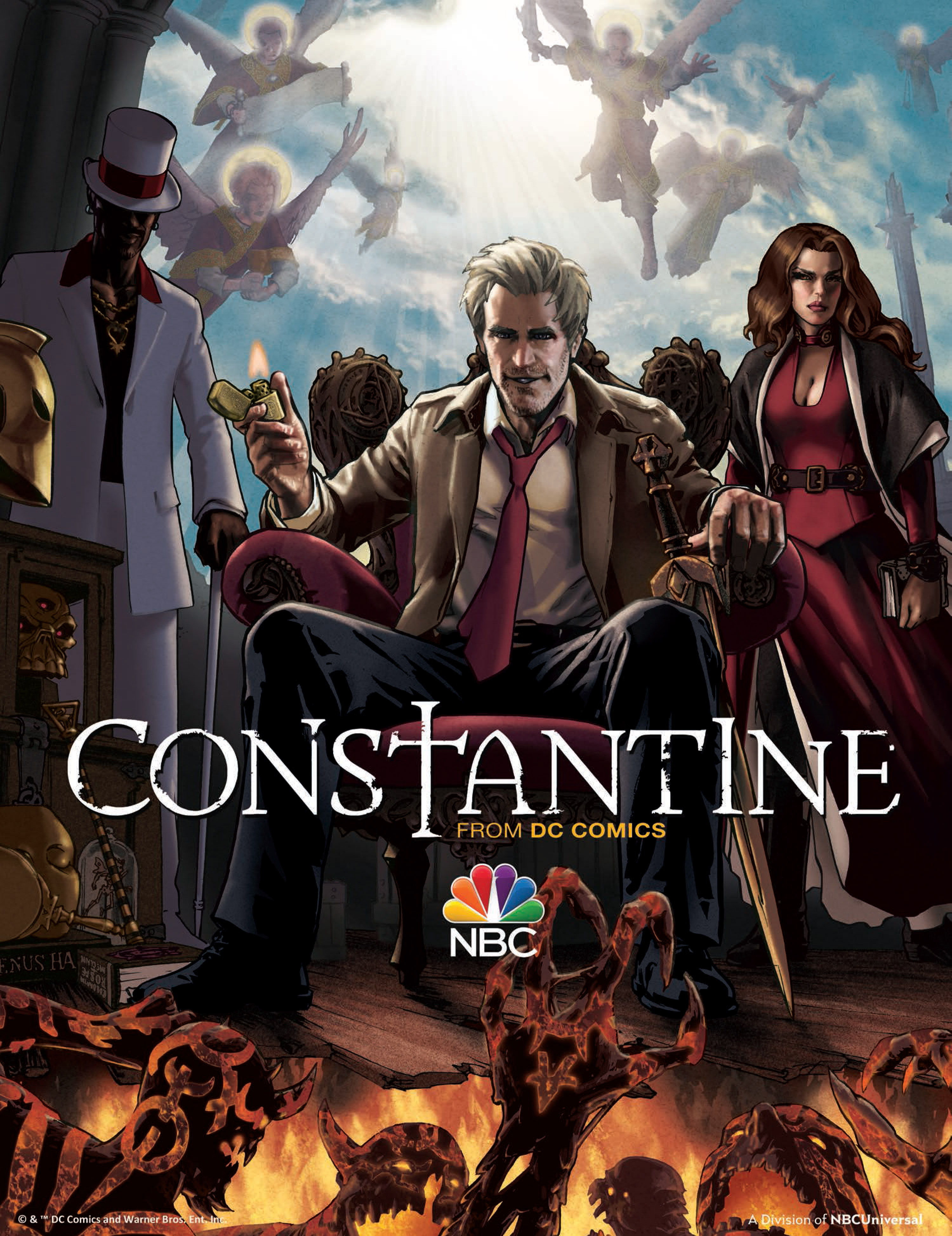 Constantine_Illustrated_Poster