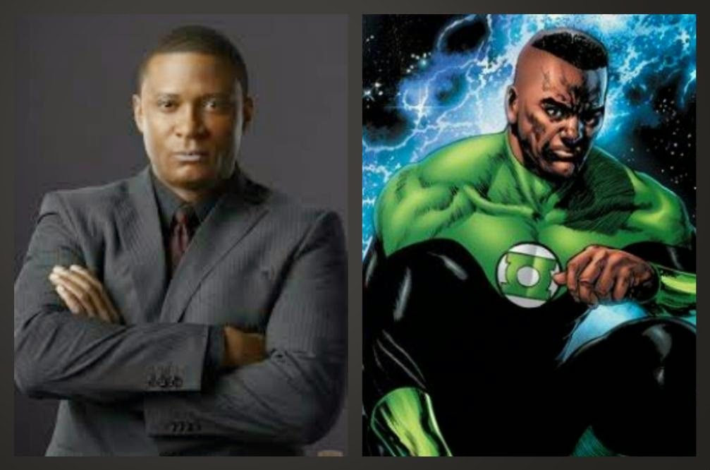 Green Lantern John Stewart (David Ramsey John Diggle Arrow)-1