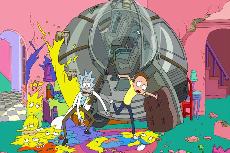 Rick And Morty Y Los Simpson Juntos El Vortex Com