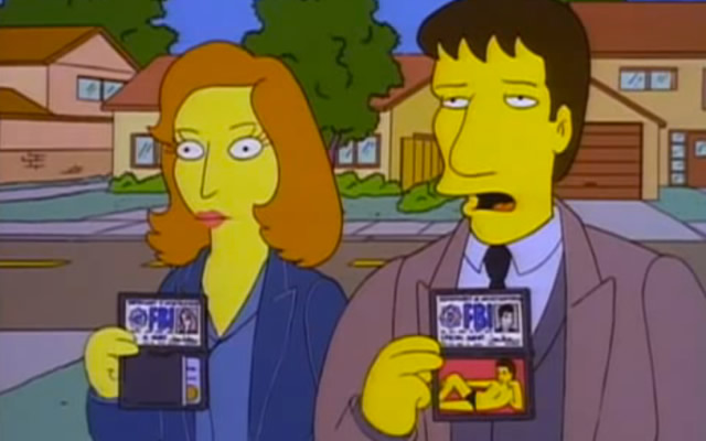 xfiles-simpsons
