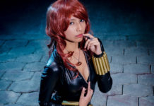 Cosplay Black Widow