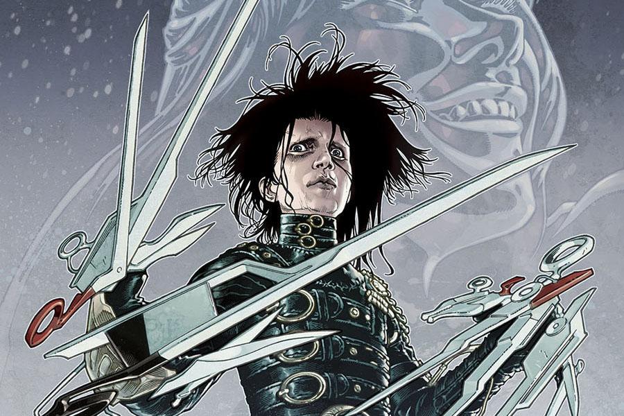 El joven manos de tijera' llega al cómic - El Vortex.com