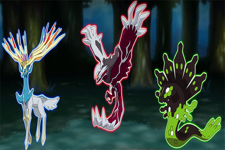 pokemones legendarios Shiny