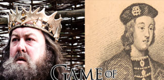 Personas que inspiraron personajes de Game of Thrones