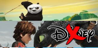 3 películas animadas exitosas que NO son de Disney