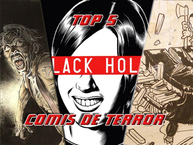 cómics de terror