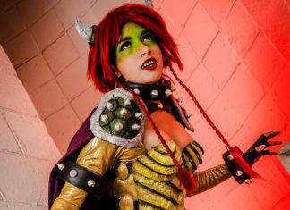 Cosplay Bowser