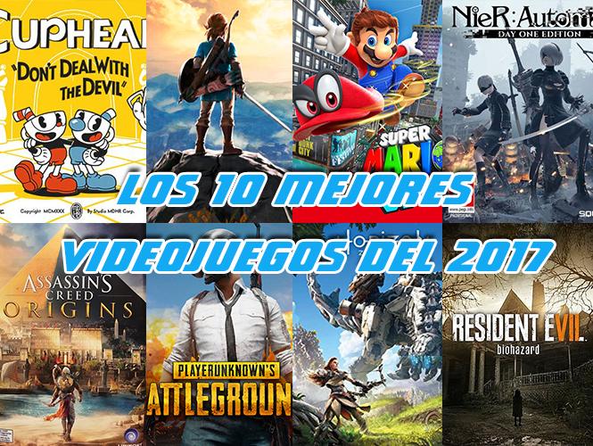 mejores videojuegos del 2017
