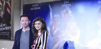 Conferencia con Hugh Jackman y Zendaya