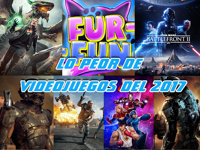 peor de videojuegos del 2017