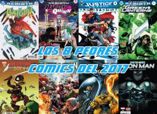 peores comics del 2017