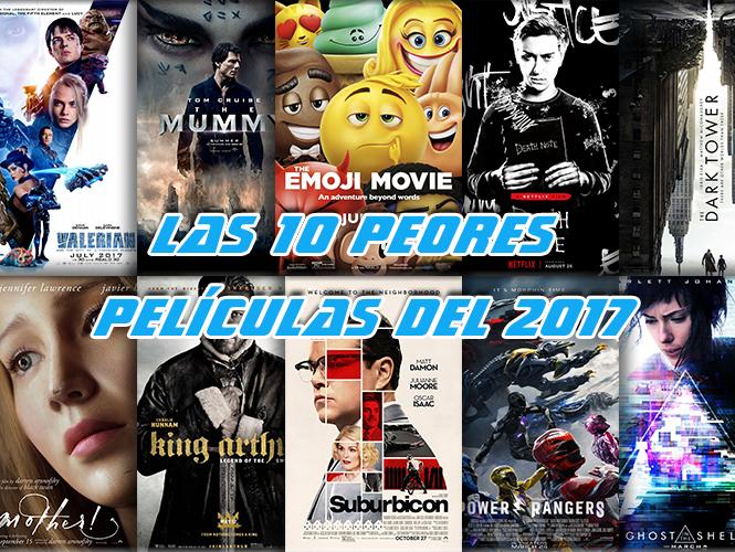 peores películas del 2017
