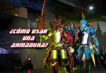 armadura cosplay