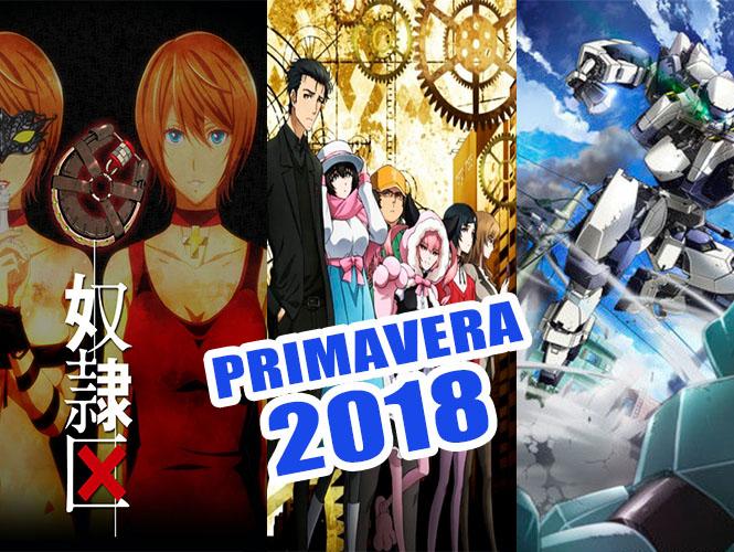 Animes Primavera 2018