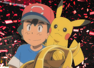Ash ganador de la liga Alola