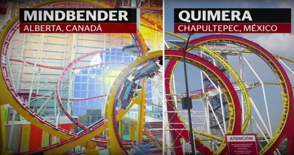 Dos montañas con la misma falla ¿coincidencia? La Feria de Chapultepec