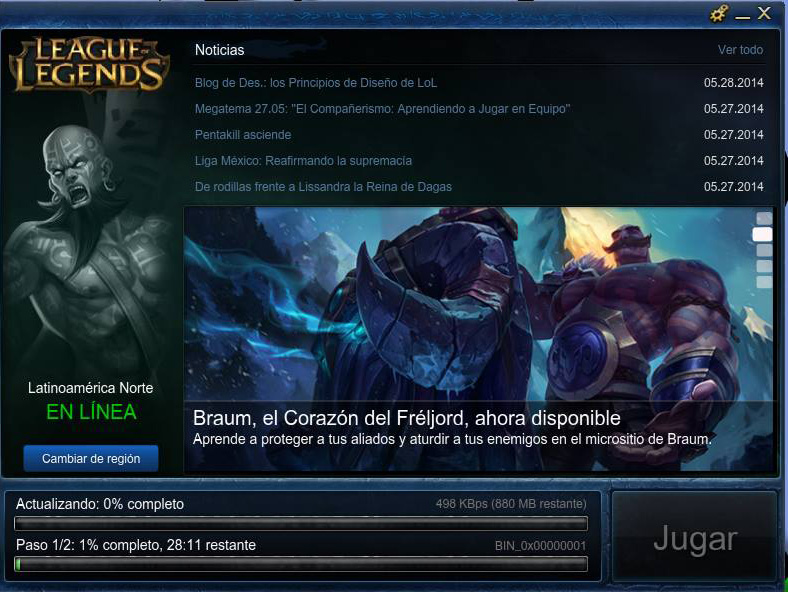 El día que instaé League of Legends