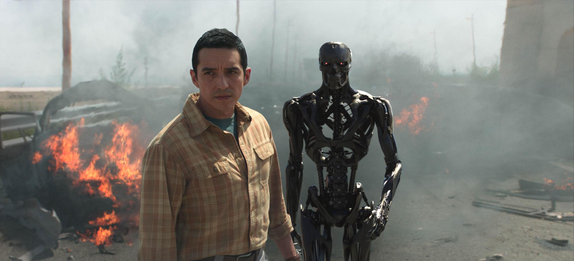 El villano de Terminator Dark Fate