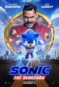 Sonic the hedgehog la película, con Jim Carrey