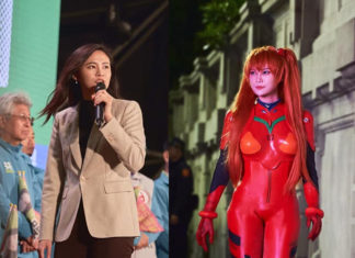 Cosplayer y politica