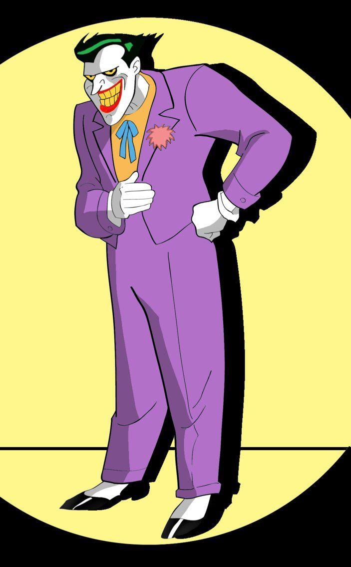 Joker en su apariencia de Batman The Animated Series