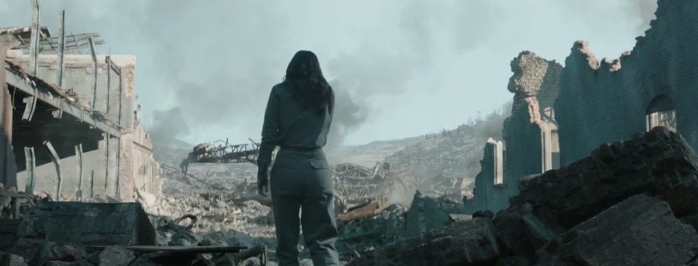El Distrito 12 en ruinas