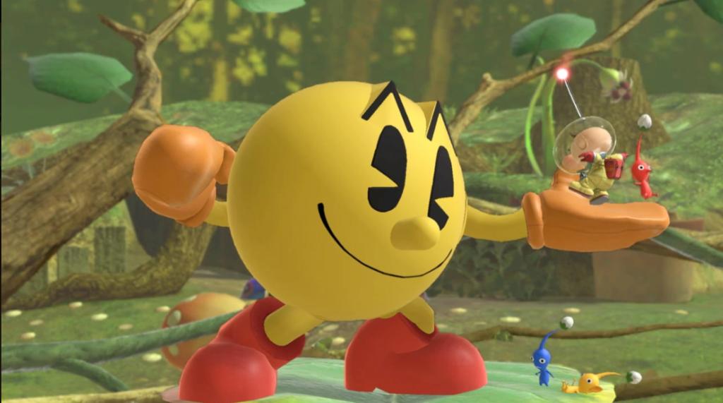 7 Cameos de Pac-Man: 6 Super Smash Bros.