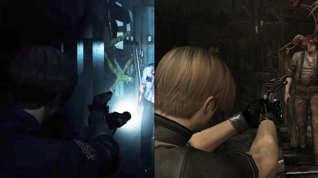 Camara al hombro en el remake de Resident evil 2
