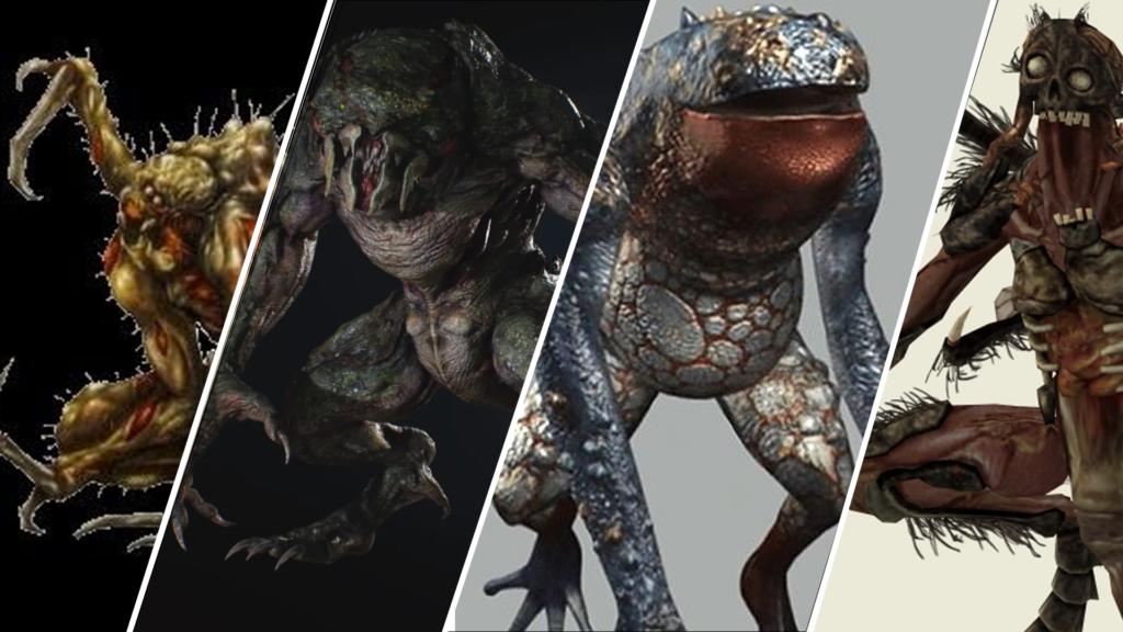 Criaturas de Resident Evil