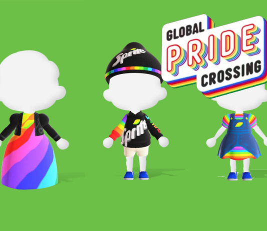 Animal Crossing Outfits del orgullo