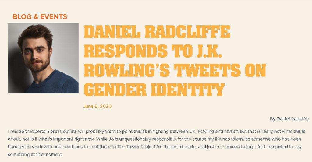Harry Potter y el misterio de por qué es tan buen chico