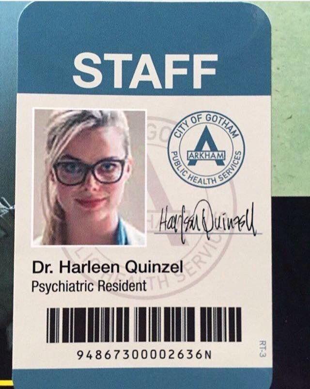 Harleen Quiinzel aka Harley Quinn