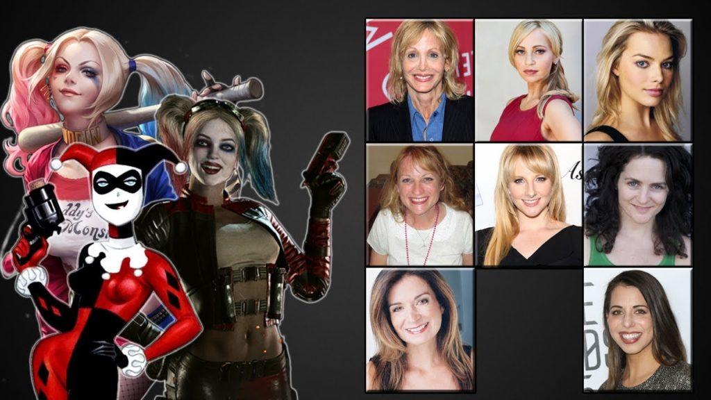 Actrices que han dado vida a Harley Quinn