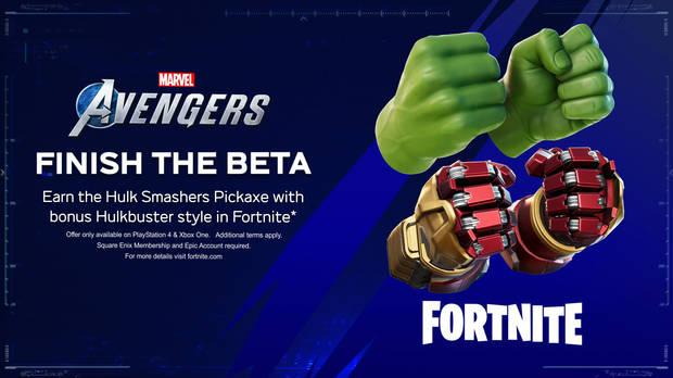 Marvel's Avengers y Fortnite