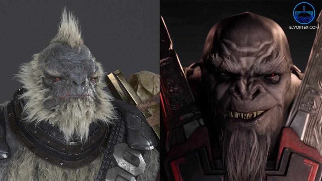 Brute de Halo 2 Aniversary vs Brute de Halo Infinite, el bajón es mas que claro.