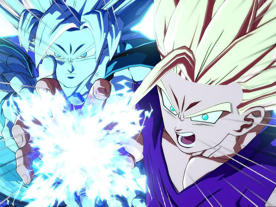 Goku y Gohan Dragon Ball FighterZ