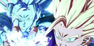 Goku y Gohan Dragon Ball FighterZ