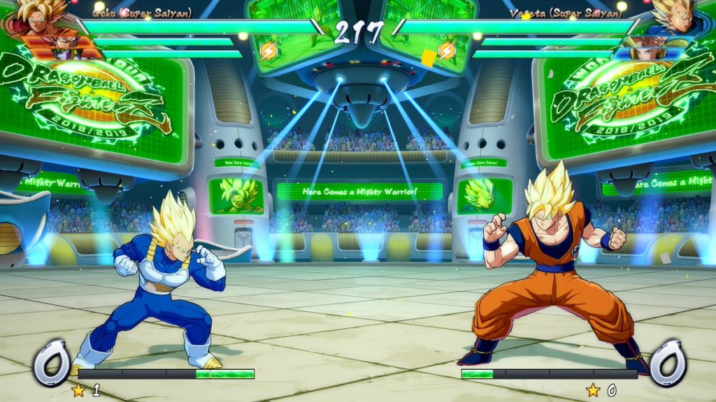 Goku y Vegeta Dragon Ball FighterZ