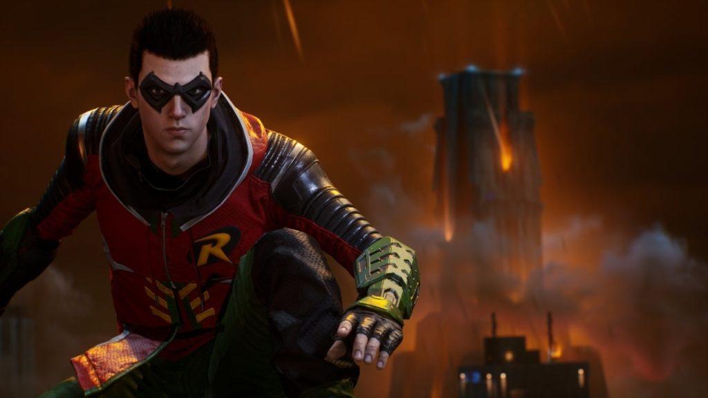 robin Gotham Knights