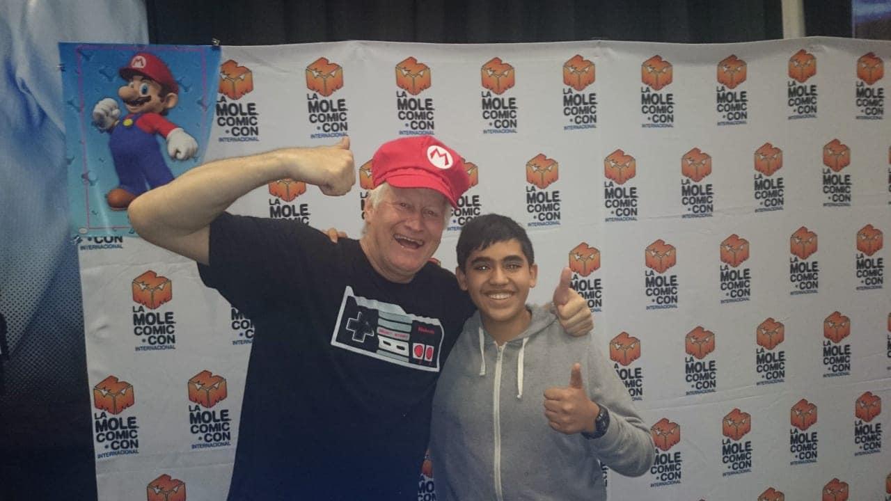 Super Mario 3D All Stars: Charles Martinet y yo.