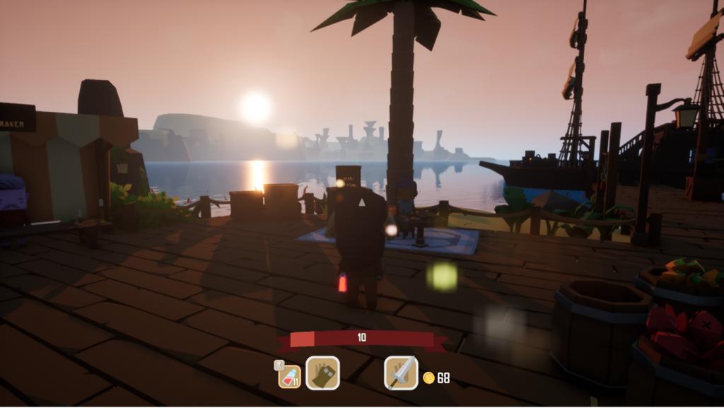 La Isla de Azura en Swords'n Magic and Stuff