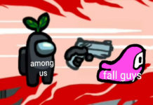 Among Us kills fall guys