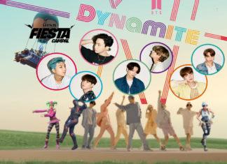 BTS y Fortnite se unen