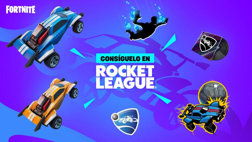 Recompensas de Fortnite y Rocket League