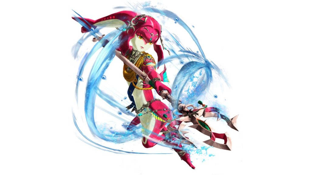 Mipha Hyrule Warriors Age of Calamity