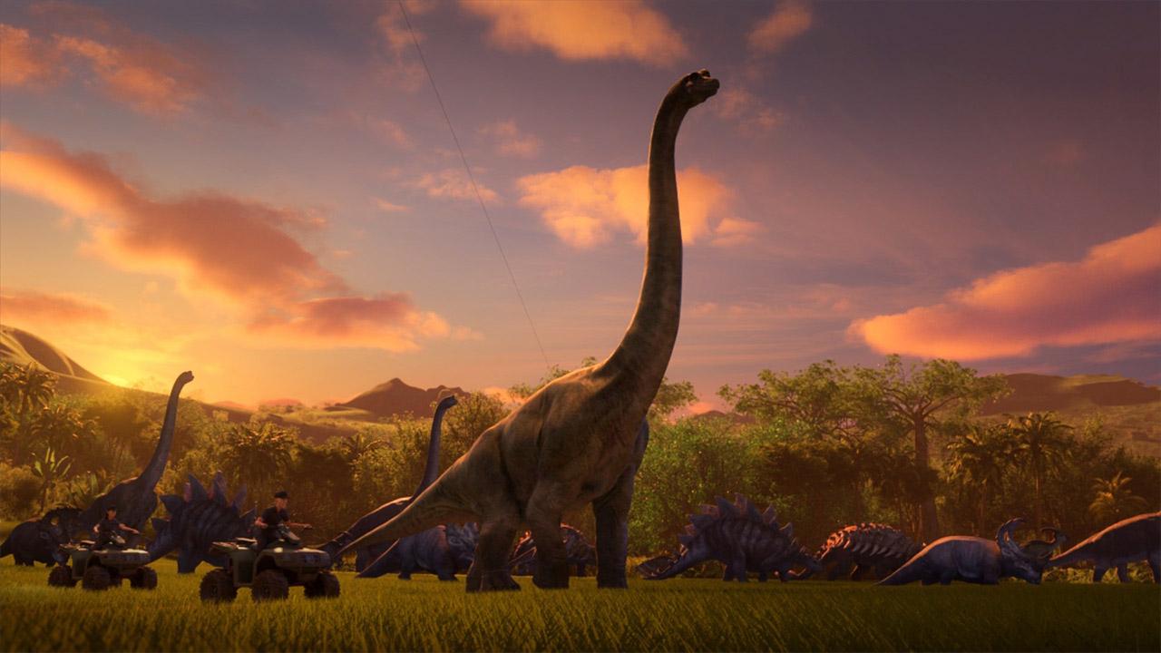 Dinosuarios Jurassic World Camp Cretaceous