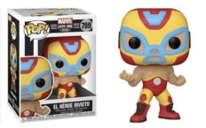 Marvel Lucha Libre Edition Funko Pop Iron-Man