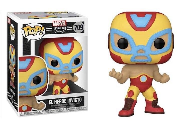 Marvel Lucha Libre Edition Funko Pop Iron-Man