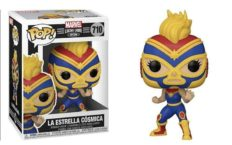 Marvel Lucha Libre Edition Funko Pop Captain Marvel