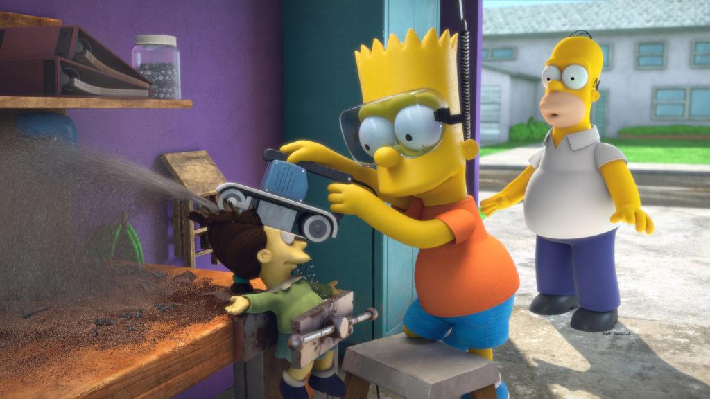 Los Simpson Pixar